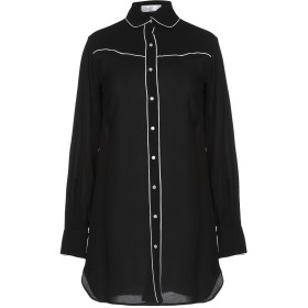 《期間限定セール中》VALENTINO レディース シャツ ブラック 40 100% シルク