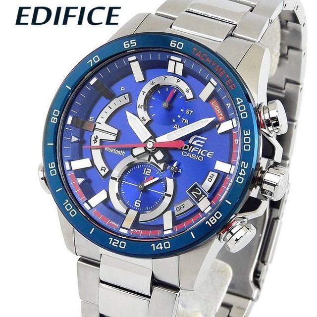 407a1b1f6e EDIFICE エディフィス CASIO カシオ タフソーラー EQB-900TR-2A アナログ メンズ 腕時計 海外モデル