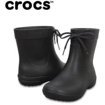 CROCS クロックス フリーセイル ショーティーレインブーツ レディース cr-203851