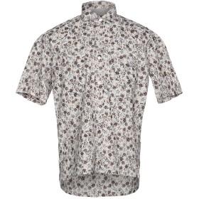 《期間限定セール開催中!》ELEVENTY メンズ シャツ ライトグレー 41 100% コットン
