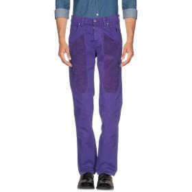 《期間限定 セール開催中》JECKERSON メンズ パンツ パープル 31 コットン 97% / ポリウレタン 3%