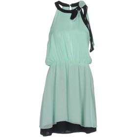 fb949b80f0ec9 《送料無料》MANGANO レディース ミニワンピース&ドレス ライトグリーン 40 ポリエステル 100%