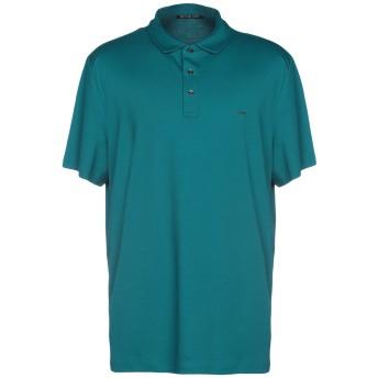 《セール開催中》MICHAEL KORS MENS メンズ ポロシャツ ダークグリーン XL コットン 100%