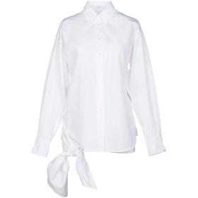 《期間限定セール開催中!》TOME レディース シャツ ホワイト 2 オーガニックコットン 100%