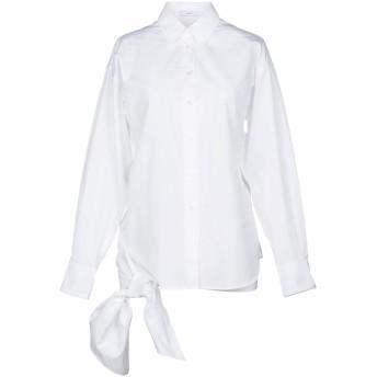 《セール開催中》TOME レディース シャツ ホワイト 2 オーガニックコットン 100%