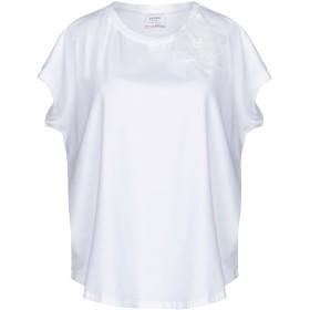 《期間限定セール開催中!》SNOBBY SHEEP レディース T シャツ ホワイト 44 コットン 95% / ポリウレタン 5%