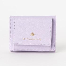 財布全般 - LI 【Pi ピーアイ】レザー風合皮3つ折りミニウォレット中国