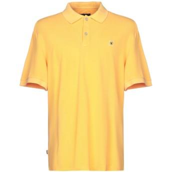 《期間限定セール開催中!》CIESSE PIUMINI メンズ ポロシャツ オレンジ S コットン 100%