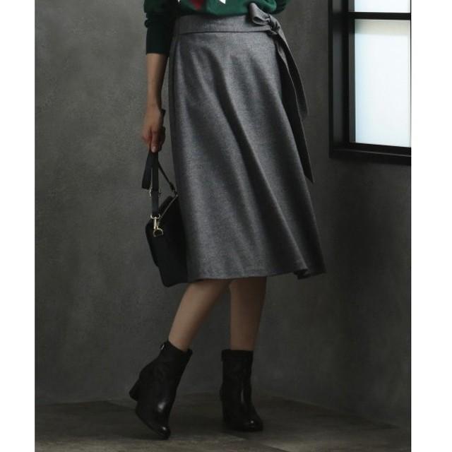 J.PRESS / ジェイプレス 【洗える】ウールスムースジャージー スカート
