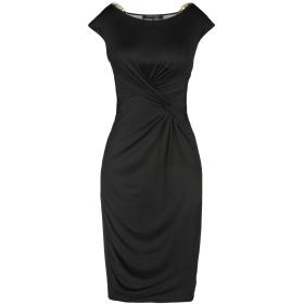 《セール開催中》GUESS BY MARCIANO レディース ミニワンピース&ドレス ブラック 42 キュプラ 96% / ポリウレタン 4%