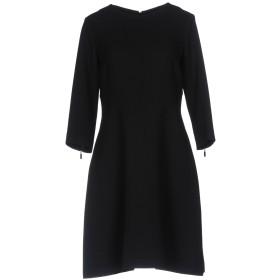 《送料無料》ANTONELLI レディース ミニワンピース&ドレス ブラック 46 100% バージンウール