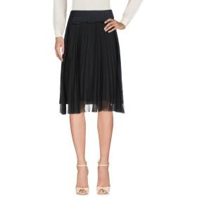 《期間限定 セール開催中》MAISON MARGIELA レディース 7分丈スカート ブラック 42 バージンウール 100% / アセテート / ナイロン / シルク
