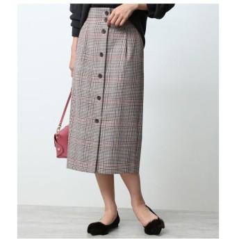 ROPE' / ロペ 【セットアップ対応】【RIOPELE】フロントボタンスカート