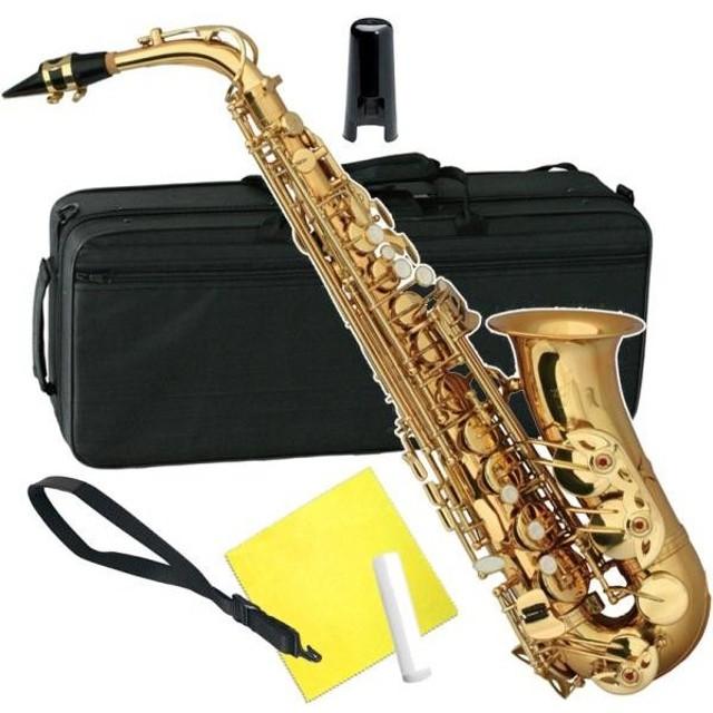 ZEFF(ゼフ) ZAS-30 アルトサックス ゴールド 新品 管楽器 初心者 サックス 楽器 本体 アルト サクソフォン 管体 ZAS30 alto saxophone