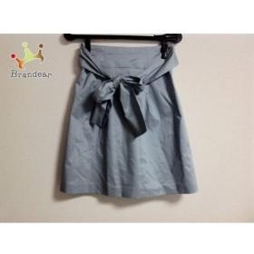 ジャスグリッティー JUSGLITTY スカート サイズ1 S レディース 美品 ライトブルー           スペシャル特価 20190518