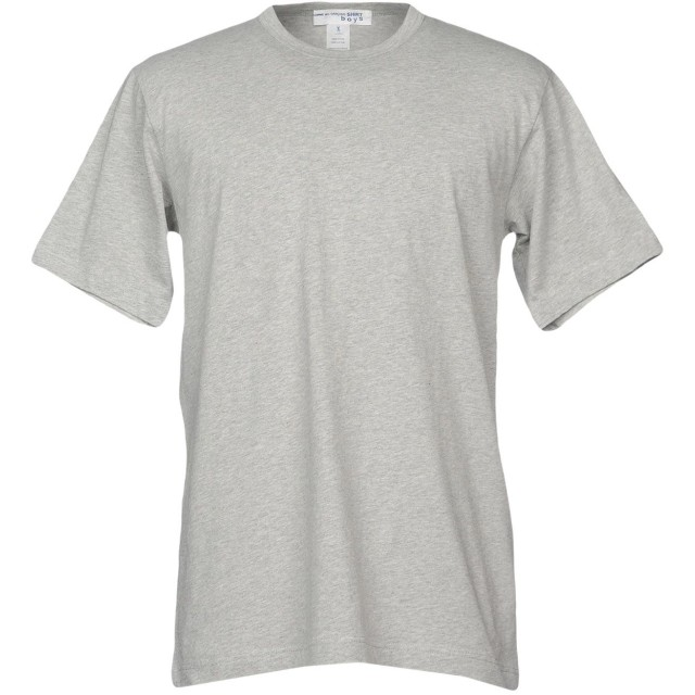 《期間限定セール開催中!》COMME des GARONS SHIRT メンズ T シャツ グレー M コットン 100%