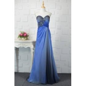 【送料無料】ベアトップ ロングドレス ビジュー ハルネック エレガント 華やか 大きいサイズ ドレス 結婚式 お呼ばれ 5l BTBA1085