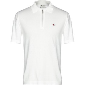 《セール開催中》CHAMPION x PAOLO PECORA メンズ ポロシャツ ホワイト XL コットン 100%