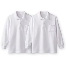 長袖ポロシャツ2枚組(ポケットあり) キッズフォーマル