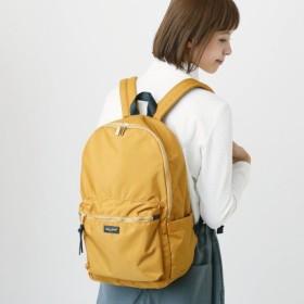 バッグ カバン 鞄 レディース リュック 撥水高密度ポリキャンリュック カラー マスタード