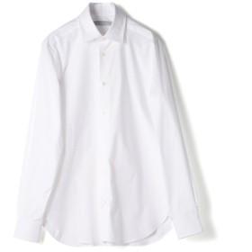 ESTNATION ストレッチブロードドレスシャツ<The Functional Wear> ホワイト/39(エストネーション)◆メンズ シャツ/ブラウス