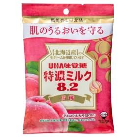 UHA 機能性表示食品 特濃ミルク8.2 白桃 84g
