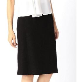 【SALE(三越)】<COMME CA/コムサ> ツィードタイトスカート(0182FF01) ブラック 【三越・伊勢丹/公式】