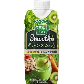 野菜生活100 Smoothie グリーンスムージーMix (330mL12本)