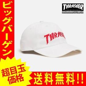 スラッシャー メンズ キャップ ホワイト THRASHER Neckface Invert Old Timer Hat thrasher108