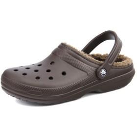 メンズ SALE!crocs(クロックス) CLASSIC LINED CLOG(クラシックラインドクロッグ) 203591 23B エスプレッソ/ウォルナット サンダル
