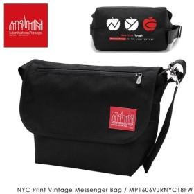 【数量限定】Manhattan Portage マンハッタンポーテージ NYC Print Vintage Messenger Bag ビンテージ メッセンジャー バッグ MP1606VJRNYC18FW