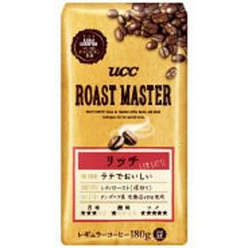 【コーヒー豆】UCC ROAST MASTER 豆 リッチ for LATTE 1袋(180g)