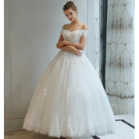 1b6e4bc01053d ウエディングドレス プリンセスラインドレス 花柄 ロングドレス ...