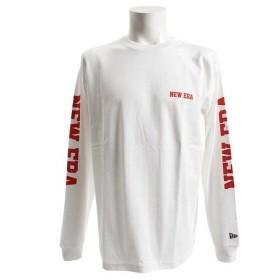 ニューエラ(NEW ERA) 長袖 コットン Tシャツ NEW ERAタイポグラフィ 11783074 (Men's)