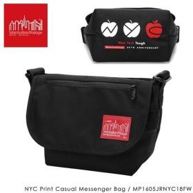 【数量限定】Manhattan Portage マンハッタンポーテージ NYC Print Casual Messenger Bag カジュアル メッセンジャー バッグ MP1605JRNYC18FW
