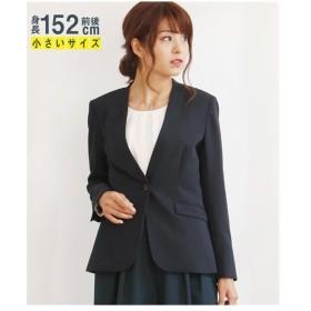 小さいサイズ レディース カラー レス ジャケット P3-P13 年中  P11〜P9 ニッセン