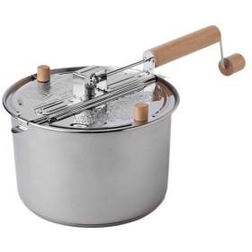 ファイヤーサイド(FIRESIDE) 調理器具 ポップコーンホッパー ステンレス 24007 ポップコーンメーカー キャンプ アウトドア 料理 薪ストーブ関連用品