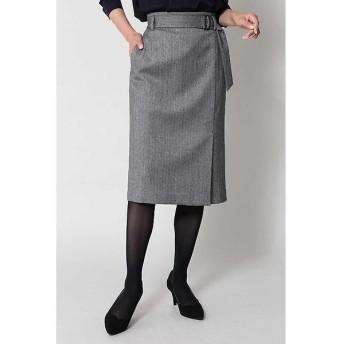 BOSCH / ボッシュ ストレッチヘリンボーンスカート