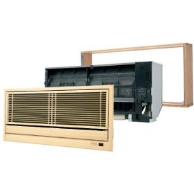 PANASONIC XCS-B221CK2/S + CZ-BKG12 + CZ-BKF2 [ハウジングエアコン おもに6畳用 壁ビルトイン シングル 単相200V ワイヤレスリモコン] 業務用エアコン