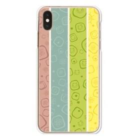 dada936d95 apple iPhoneXS Max ハードケース/カバー 【CuteストライプA PCクリアハードカバー】