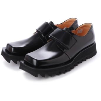 ディガウト DIGOUT NIK (Square-Toe Shoes) (BLACK)