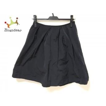 マルティニーク martinique スカート サイズ1 S レディース 美品 ネイビー           スペシャル特価 20200216