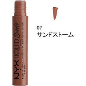 NYX Professional Makeup(ニックス) リキッド スエード クリーム リップスティック 07 カラー・サンドストーム