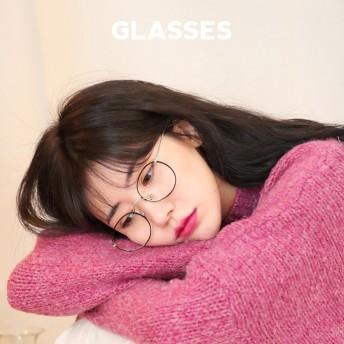 サークルメタルフレーム眼鏡・全5色・n51589