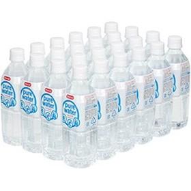 超軟水ピュアウォーター 500ml×24本入り 赤ちゃんのミルクにも使える水 ★ ペットボトル 【送料無料】 [BTL2-5NK]