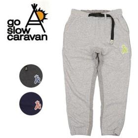go slow caravan ゴースローキャラバン スウェット切り替えパンツ 390223 【アウトドア/パンツ/スウェット】