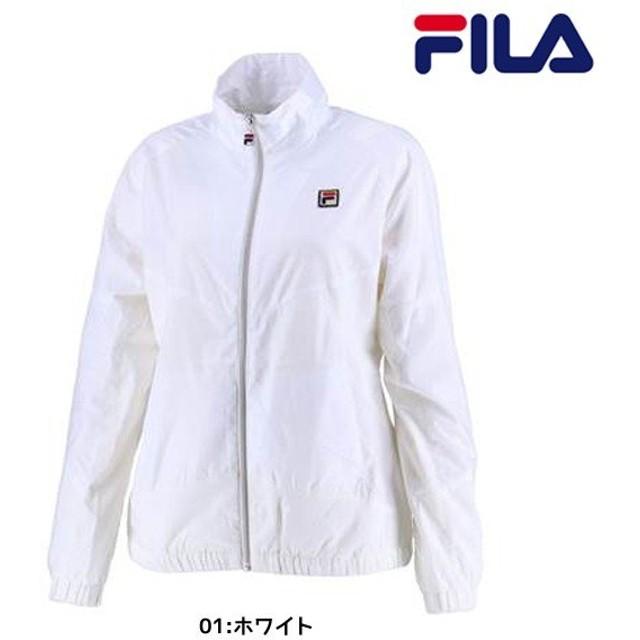 664be1a29bf12 フィラ FILA ウインドアップジャケット VL1769 レディース テニスウエア ウインドブレーカー トレーニング