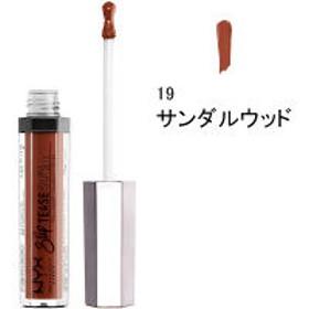 NYX Professional Makeup(ニックス) スリップティーズ リップ ラッカー 19 カラー・サンダルウッド