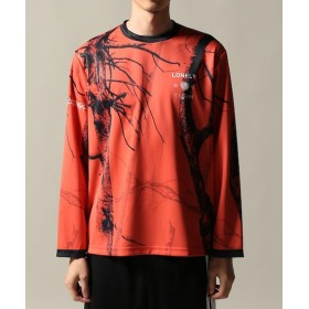 JOURNAL STANDARD LONELY ryaw L/S TEE レッド L
