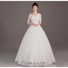6667066c50f89 Wedding dress ウエディングドレス ロングドレス プリンセスラインドレス パーティー 森ガール